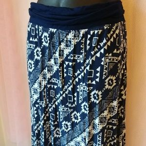 Justice Bottoms - Justice • Geometric Print Maxi Skirt